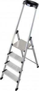 Krause MONTO Safety PlusLine egy oldalon járható lépcsőfokos állólétra, 4 fokos termék fő termékképe