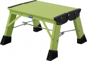 Krause MONTO Treppy PlusLine összecsukható fellépő, zöld, 1fokos termék fő termékképe