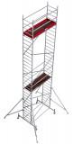 Krause ProTec alumínium gurulóállvány, munkamagasság: 9.3 m