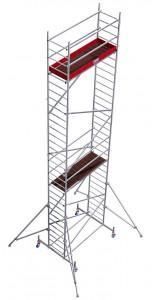 Krause ProTec alumínium gurulóállvány, munkamagasság: 9.3 m termék fő termékképe