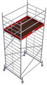 Krause ProTec XXL alumínium gurulóállvány, széles változat, munkamagasság: 5.3 m termék fő termékképe
