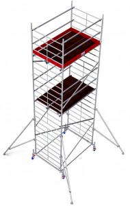 Krause ProTec XXL alumínium gurulóállvány, széles változat, munkamagasság: 7.3 m termék fő termékképe