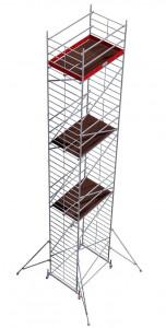 Krause ProTec XXL alumínium gurulóállvány, széles változat, munkamagasság: 12.3 m termék fő termékképe