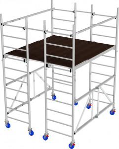Krause ProTec XS-P dobogós alumínium állvány termék fő termékképe