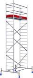 Krause ProTec alumínium gurulóállvány, munkamagasság: 6.3 m