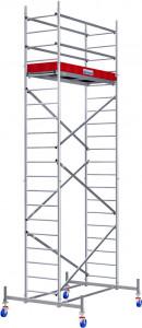 Krause ProTec alumínium gurulóállvány, munkamagasság: 6.3 m termék fő termékképe