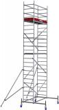 Krause ProTec alumínium gurulóállvány, munkamagasság: 7.3 m