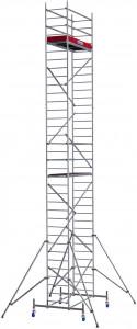 Krause ProTec alumínium gurulóállvány, munkamagasság: 10.3 m termék fő termékképe