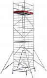 Krause ProTec XXL alumínium gurulóállvány, széles változat, munkamagasság: 8.3 m