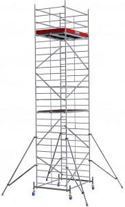 Krause ProTec XXL alumínium gurulóállvány, széles változat, munkamagasság: 8.3 m termék fő termékképe