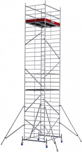 Krause ProTec XXL alumínium gurulóállvány, széles változat, munkamagasság: 9.3 m termék fő termékképe