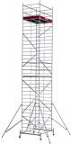 Krause ProTec XXL alumínium gurulóállvány, széles változat, munkamagasság: 10.3 m
