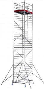 Krause ProTec XXL alumínium gurulóállvány, széles változat, munkamagasság: 10.3 m termék fő termékképe