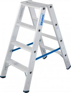 Krause STABILO Professional két oldalon járható lépcsőfokos állólétra, 2x4 fokos termék fő termékképe