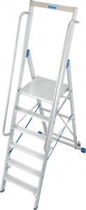 Krause STABILO Professional egy oldalon járható lépcsőfokos állólétra nagy dobogóval, 6 fokos termék fő termékképe
