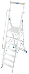 Krause STABILO Professional egy oldalon járható lépcsőfokos állólétra nagy dobogóval, 7 fokos termék fő termékképe