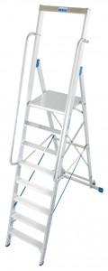 Krause STABILO Professional egy oldalon járható lépcsőfokos állólétra nagy dobogóval, 8 fokos termék fő termékképe