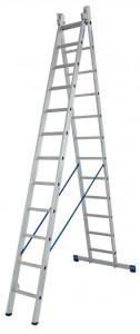 Krause STABILO Professional kétrészes létrafokos többcélú létra, 2x12 fokos termék fő termékképe