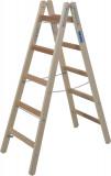 Krause STABILO Professional két oldalon járható fa állólétra, 2x5 fokos