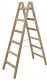 Krause STABILO Professional két oldalon járható fa állólétra, 2x6 fokos