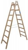 Krause STABILO Professional két oldalon járható fa állólétra, 2x8 fokos
