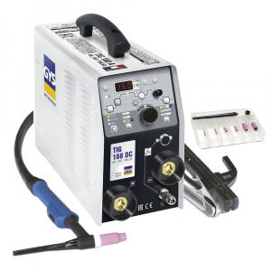 GYS TIG 168 HF DC hegesztő inverter tartozékokkal termék fő termékképe