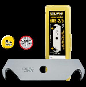 Olfa HOB-2/5 horgas penge, 17.5 mm, 5db/csomag termék fő termékképe
