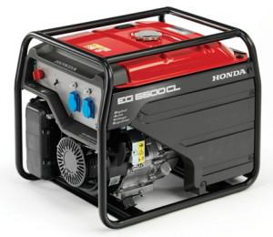 Honda EG 5500 áramfejlesztő termék fő termékképe