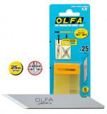 Olfa KB penge dekor- és művészkésekhez, 6 mm, 25db/csomag