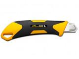 Olfa L-7 törhető pengéjű X Design vágókés csavaros pengerögzítővel, 18 mm