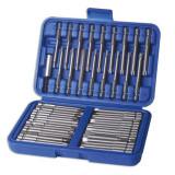Laser Tools LAS-3436 csavarhúzó bitkészlet, extra hosszú, 50 részes
