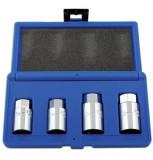 Laser Tools LAS-3734 tőcsavar ki- és behajtó készlet, extra rövid, M6-M12, 4 részes