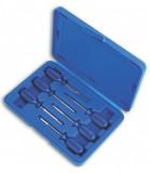 Laser Tools LAS-3984 kábelcsatlakozó szerelő, saru eltávolító készlet, 6 részes