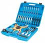 Laser Tools LAS-4845 kuplungközpontosító készlet kettős tömegű 3-4 ágú SAC kuplungokhoz, 38 részes