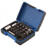"""Laser Tools LAS-5031 bitkészlet 1/4""""-os és 3/8""""-os befogóval, Torx Plus, 23 részes"""