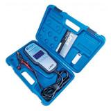 Laser Tools LAS-5275 digitális akkumulátor teszter beépített nyomtatóval, 12V