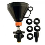 Laser Tools LAS-5453 hűtőrendszer feltöltő tölcsér + adapter készlet