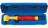 """Laser Tools LAS-5481 3/8""""-os szigetelt nyomatékkulcs 1000 V-ig, kalibrált, 5-25 Nm"""