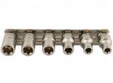 """Laser Tools LAS-5616 1/4""""-os belső TorxPlus® dugókulcs készlet, 6 részes"""