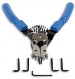 Laser Tools LAS-5733 Seeger-fogó cserélhető heggyel, egyenes / 90°, külső és belső gyűrűkhöz