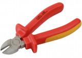 Laser Tools LAS-5912 VDE szigetelt oldalcsípő fogó 1000 V-ig, 150 mm