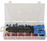 Laser Tools LAS-6532 5-funkciós saruzó fogó kábelvég készlettel, 271 részes
