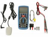 Laser Tools LAS-6550 digitális multiméter, szigetelésvizsgáló, CAT III, hibrid járművekhez is