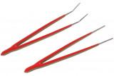 Laser Tools LAS-6692 rozsdamentes csipesz készlet, 2 részes