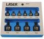 """Laser Tools LAS-6727 1/4"""", 3/8""""-os gépi rátűzőkulcs készlet, extra alacsony, torx, T10-T50, 10 részes"""
