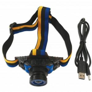 Laser Tools LAS-6808 tölthető LED fejlámpa, 01 CREE 3W termék fő termékképe