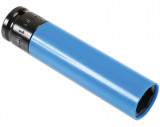 "Laser Tools LAS-6909 1/2""-os 6-lapú légkulcsfej alufelnihez, extra hosszú, 130 mm, 19 mm"
