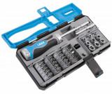"""Laser Tools LAS-6992 1/4""""-os bit- és dugókulcs készlet racsnis hajtószárral, 33 részes"""