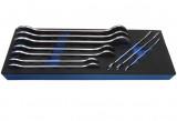 Laser Tools LAS-6996 extra vékony villáskulcs készlet, metrikus, 10 részes