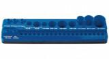 Laser Tools LAS-7530 mágneses tartó-rendszerező bitekhez és adapterekhez, 34 férőhelyes